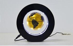 Image 3 - 2021 Floating Levitazione Magnetica Globo Mappa Del Mondo di Luce di Notte Lampada Della Sfera Della Novità Luci Ufficio Complementi Arredo Casa Globo Terrestre