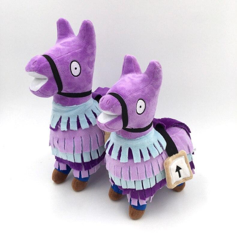 25cm Game Battle Royale Troll Stash Llama Figure Doll Soft Stuffed Plush Toy Holiday Gift