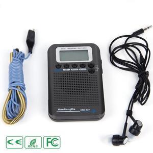 Image 5 - HRD 737 Digital LCD Display Full Band Radio Portable FM/AM/SW/CB/Air/VHF World Band Stereo Receiver Radio with Alarm Clock
