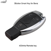 RIN 3Buttons Car Remote Smart Key For Mercedes Benz Year 2000 NEC BGA Style Auto Remote