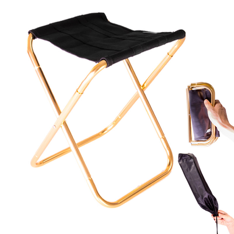Outdoor Folding Chair Portable Train Stool Small Chairs
