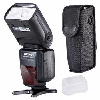 Flash de cámara profesional TRIOPO TR-988 Speedlite TTL con sincronización de alta velocidad para cámara Digital SLR TR988 + difusor CD5 A04 C105.91