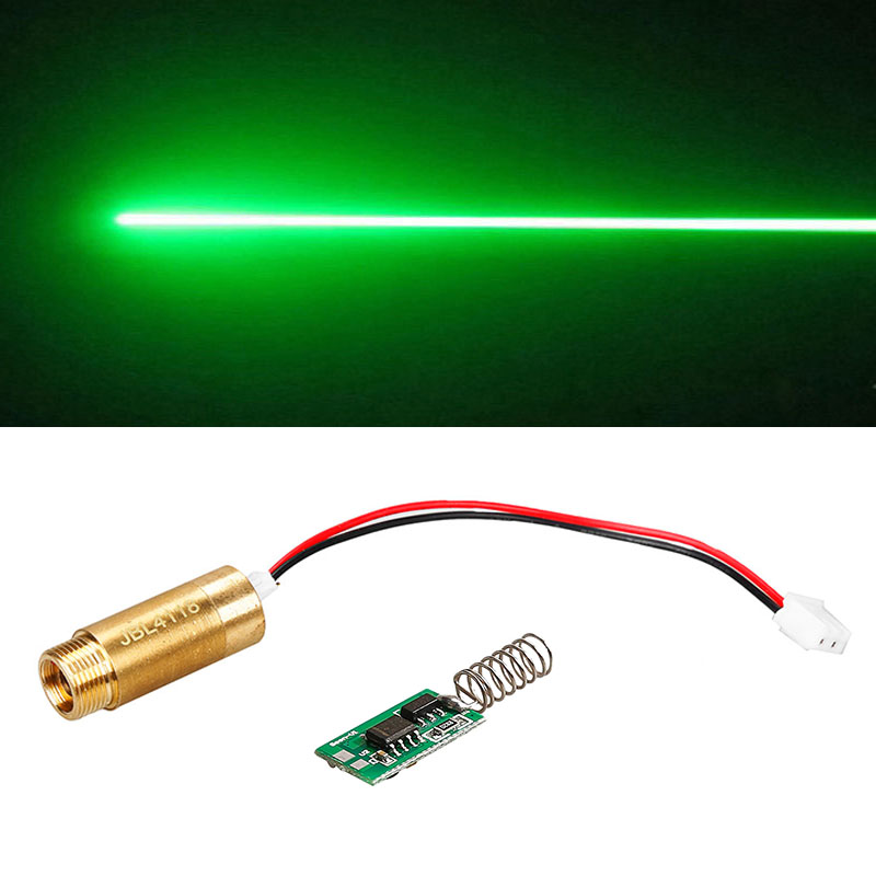 532nm 50mW Green Laser Module / Laser Diode / light Free Driver / LAB/Steady working цена