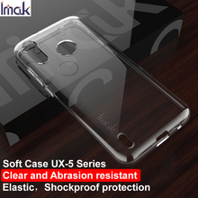 For Motorola Moto P40 Play Case IMAK Fitted Cases Phone Cover Ultra Thin Soft TPU