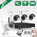 Oferta especial anran auto-par kit wireless 720 p hd visión nocturna de seguridad ip cámara al aire libre wifi cctv sistema 1 tb hdd seleccionable