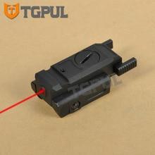 """TGPUL низкопрофильный оружейный лазерный прицел тактическая лазерная указка страйкбол пистолет 20 мм Пикатинни Вивер крепление и 3/"""" 11 мм ласточкин хвост крепление"""