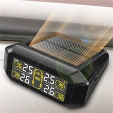 Tire pressure monitor TPMS built-in portable high-definition color digital display tire gauge