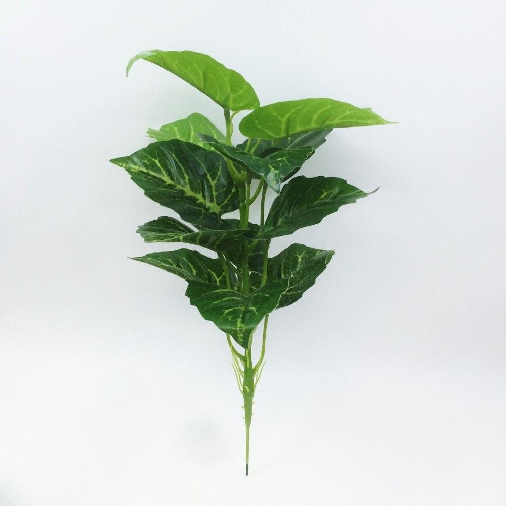 2017 Yapay Yeşil turp Bonsai Ağacı Satılık Çiçek Dekor - Tatiller ve Partiler Için - Fotoğraf 5