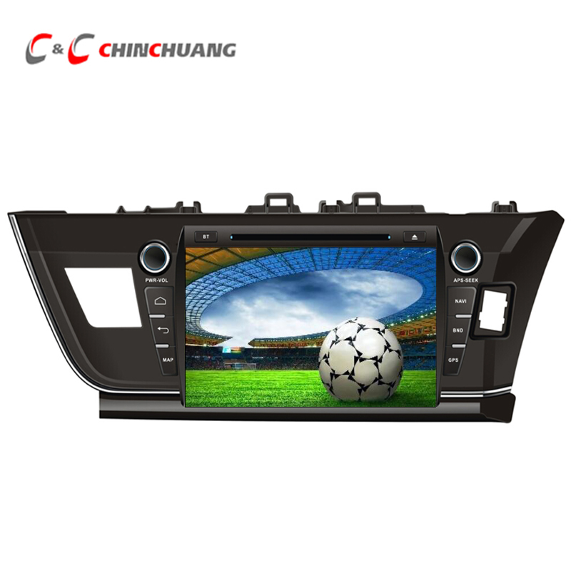 Promotion ! Updated Octa-core 2G RAM 32G ROM Android 7.1 Car DVD Player GPS for Toyota Corolla 2014-2016 Tape Recorder WiFi DVR