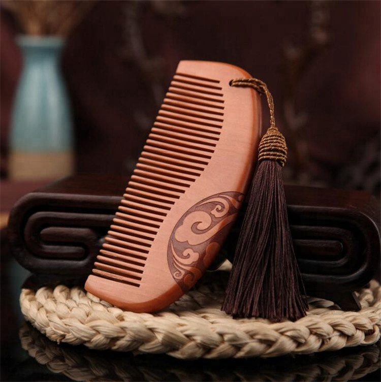 2019 Comb Hair Healthy Wooden Anti-static Comb For Sale