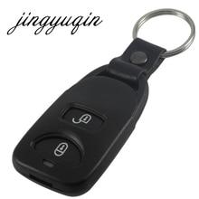 Jingyuqin Фирменная Новинка удаленного Оболочки Управление fob случай 2 + 1 паника для KIA Hyundai Tucson Elantra Акцент Santa Fe 3 пуговицы