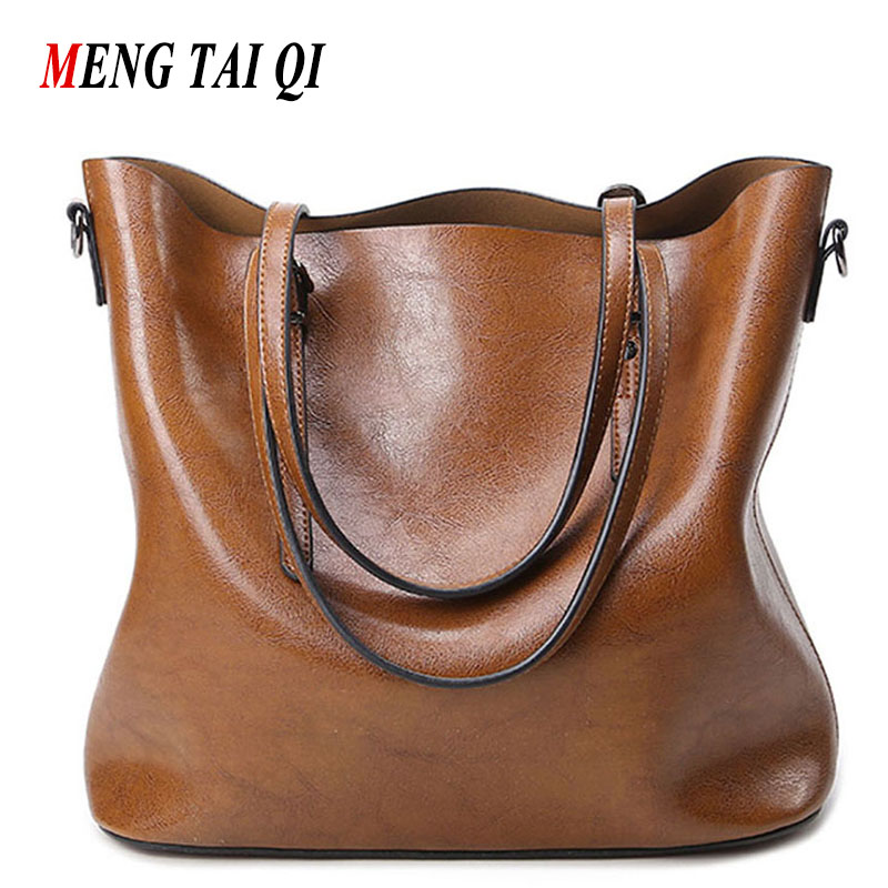 Women Bag Luxury Brand 2016 Big Women Leather Handbags Designer Tote Crossbody Bag For Women Shoulder