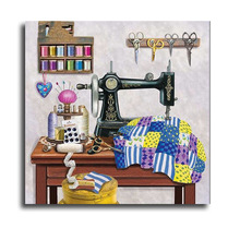 Full Square/Round Drill 5D DIY Diamond Painting Sewing machine 3D Embroidery Cross Stitch Mosaic Rhinestone Home Decor crafts diapai 100% full square round drill 5d diy diamond painting flower landscape diamond embroidery cross stitch 3d decor a21095