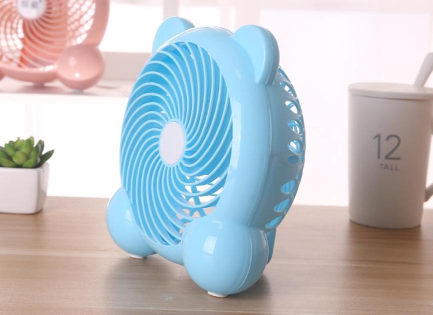 Portable Desk Fan USB Powered Desktop Cooling Fan Flexible Computer Laptop Quiet Table Fan USB Low Power Consumption