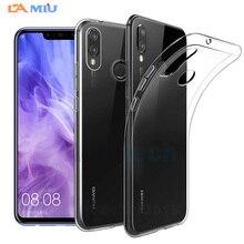 LA MIU Clear Soft TPU Case For Huawei Nova 3 3i Mate 20 Lite Honor 10 P20 Pro P Smart Plus Note Silicone