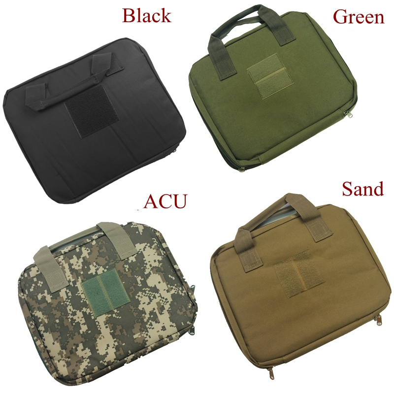 Flight Tracker Hot Sale Tactical Airsoft Universal Gun Bag Military Army Hunting Pistol Case Black Green Color In Short Supply