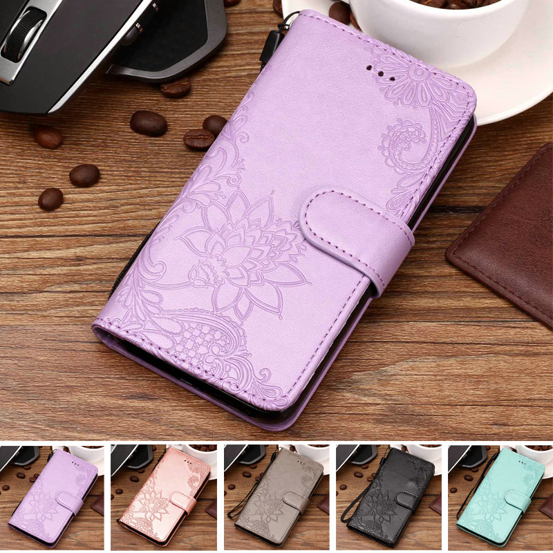 6.0'' 3D Embossing Phone Etui for Asus Zenfone 5 Lite ZC600KL Case Leather Card Slot for Coque Asus 5 Lite Cover Zenfone 5Lite