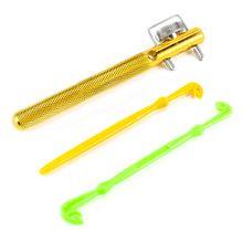 Инструмент для завязывания рыболовных крючков инструмент устройство