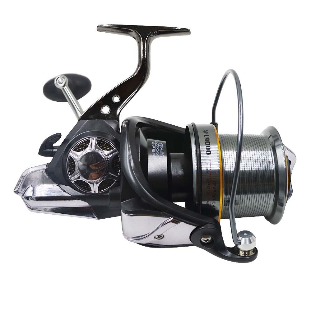 Metal Super Fishing Reel 10+1BB Bearing Balls AFL8000/AFL9000/AFL10000 Series Spinning Reel Boat Rock Fishing Wheel tokushima hf series all metal double bearing 5 1 bearings spinning reel 4 5 1