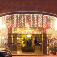 8 0 65m LED Fairy Lights Garlands Guirlande Lumineuse Led String Christmas Lights Outdoor Wedding Decorations