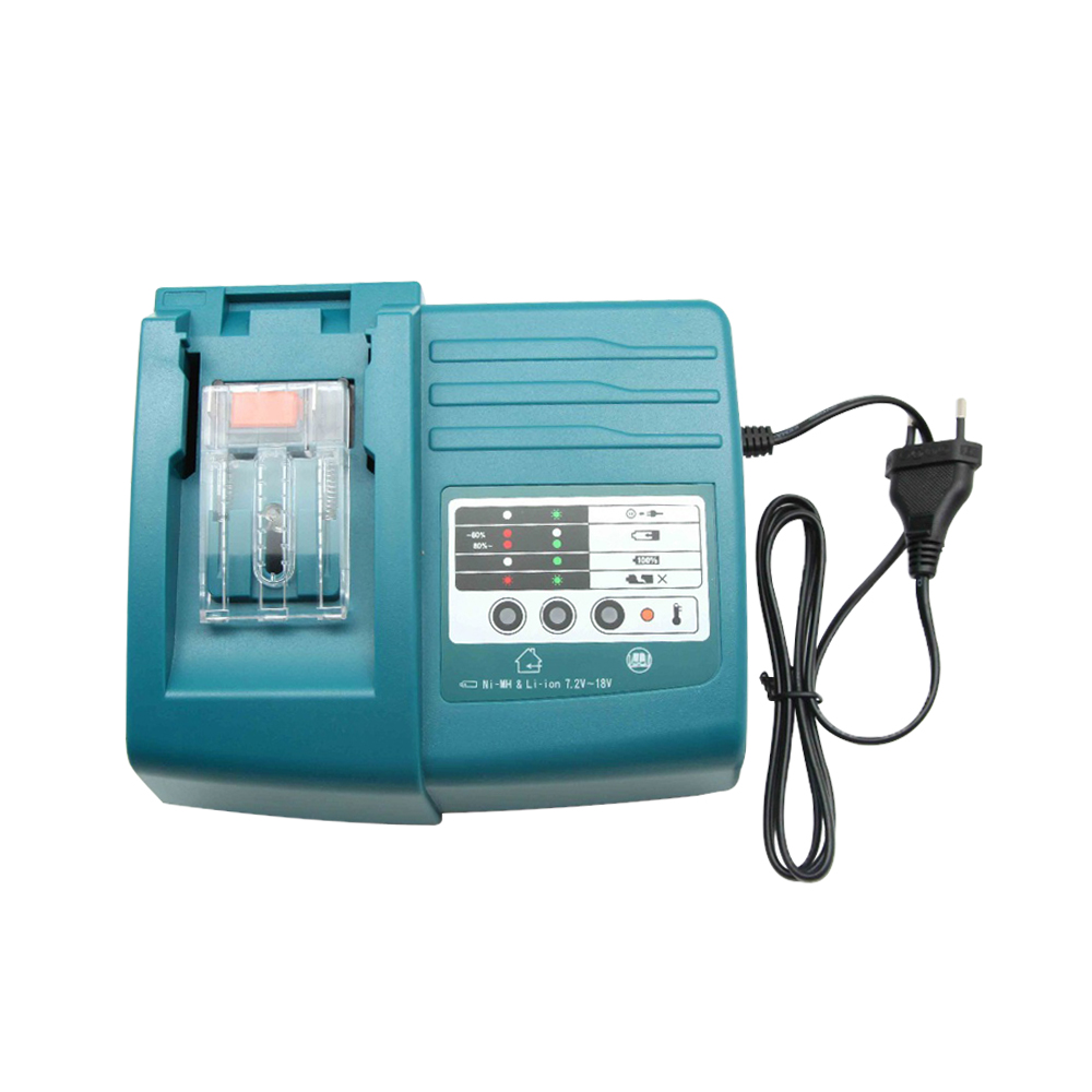 Power tools Makita DC18RC Black LXT Lithium Ion 18V Fast Battery Charger Charges for Makita Batteries from 7.2V to 18VPower tools Makita DC18RC Black LXT Lithium Ion 18V Fast Battery Charger Charges for Makita Batteries from 7.2V to 18V