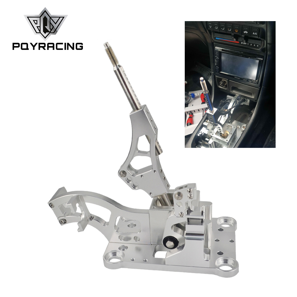 Billet Aluminum Shifter Box Gear Shifter Shift Knob For Acura RSX / K Series Engine EG EK