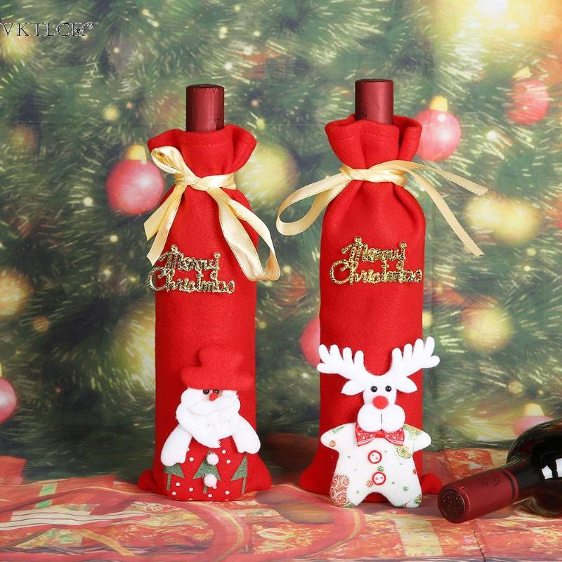 ... Wholesale Holidays Wine Bottle Cover Gallery - Buy Low Price Holidays  Wine Bottle Cover Lots on  Christmas Gift Bags ... aac314fd036fd