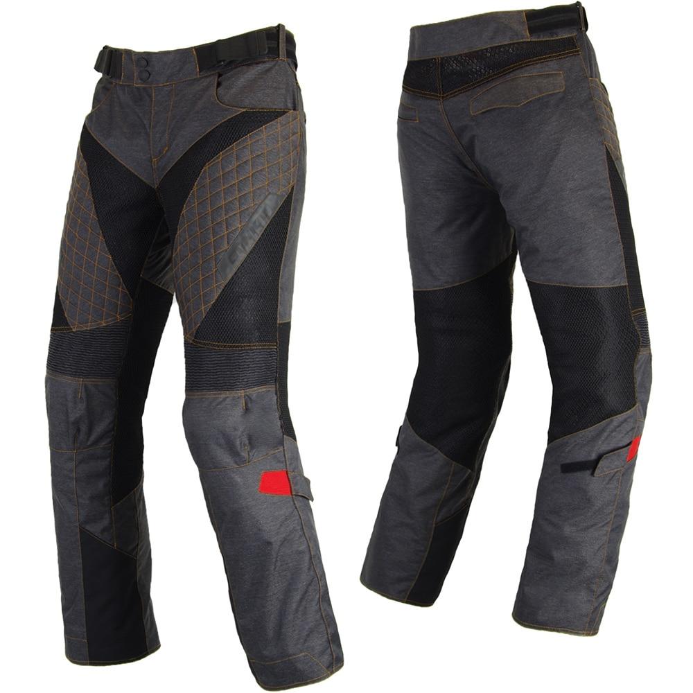 spodnie motocyklowe letnie