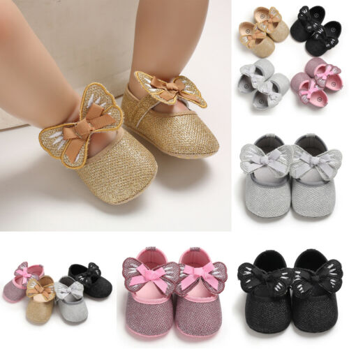Sneakers Shoes Prewalker Soft-Sole Toddler Newborn-Baby Girl Fashion Hot Summer Bowknot