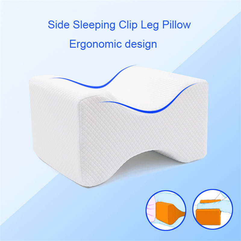 Orthopedic Slow Rebound Memory foam Knee Leg Pregnant Women pillow Side Sleeping Clip Leg Pillow Thigh Leg Pad Support Cushion
