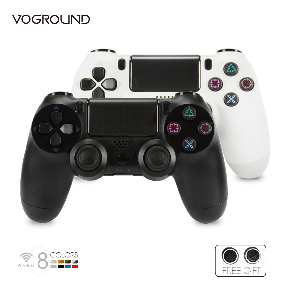 Bluetooth Controller For Sony PS4 Pro Wireless Gamepad Vibration Joystick For PlayStation 4 Console Game Controller 1pcs black wireless game gaming bluetooth chatpad message keyboard for sony for playstation 4 for ps4 controller with usb cable