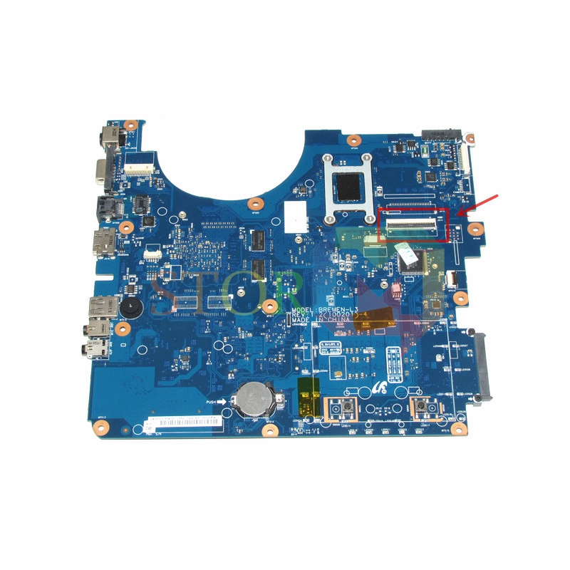NOKOTION for samsung R530 laptop motherboard BA92-06346A BA92-06346B BA41-01227A PM45 GT310M DDR3