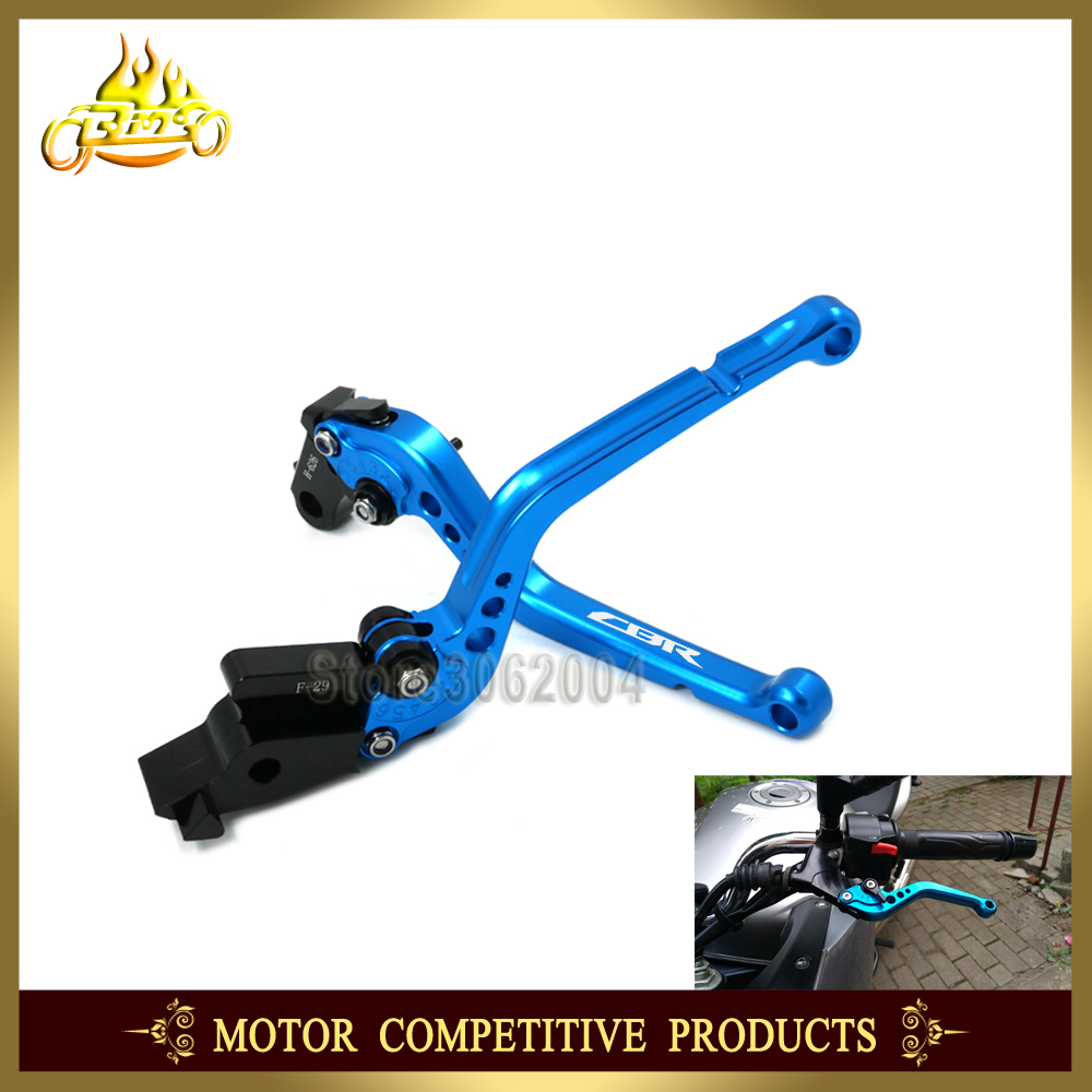 Adjustable Short/Long Brake Clutch Levers Motorcycle Accessories For Honda CBR929RR CBR 929RR CBR929 RR 2000 2001 With LOGO CNC