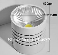 Free Shipping LED Ceiling Downlight COB 15W For Option Surface Mounted Installtion AC85 265V