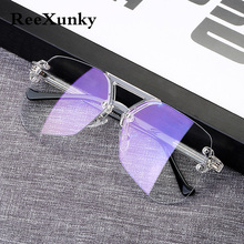 2019 New Protection Glasses For Computer Anti Blue Ray Radiation Blue Light Blocking Glasses Anti Eye Fatigue Square Goggles Top цена
