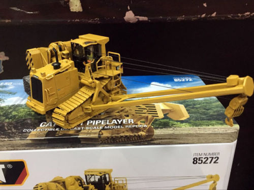 Caterpillar Cat 587T Pipelayer 1/50 Metal Model Engineering vehicles By Diecast Masters DM85272