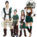 Father and Mother Halloween Costumes Peter Pan Cosplay Costumes Carnival Party Family Couple Matching Boys Girls Costumes