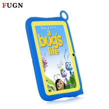FUGN Original Kids Tablets Android PC 7 inch Tabelt Quad Core 512M RAM 8GB ROM 16GB TF Card Dual Cameras with Silicone Case 8′