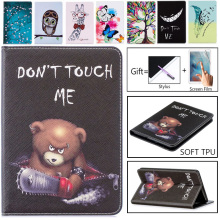 Owl Butterfly Flowers PU Leather Stand Case Cover For Samsung Galaxy Tab3 7.0 Lite T110 T111 Tablet case For Samsung T113 T116 lichee pattern protective pu leather flip open case w stand for samsung p5200 galaxy tab3 red