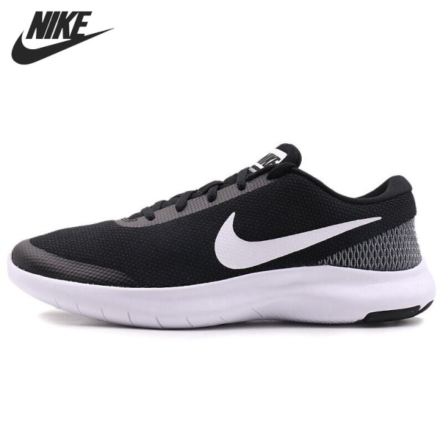 NIKE MEN'S SHOES  FLEX EXPERIENCE RN 7 BLACK WHITE WHITE
