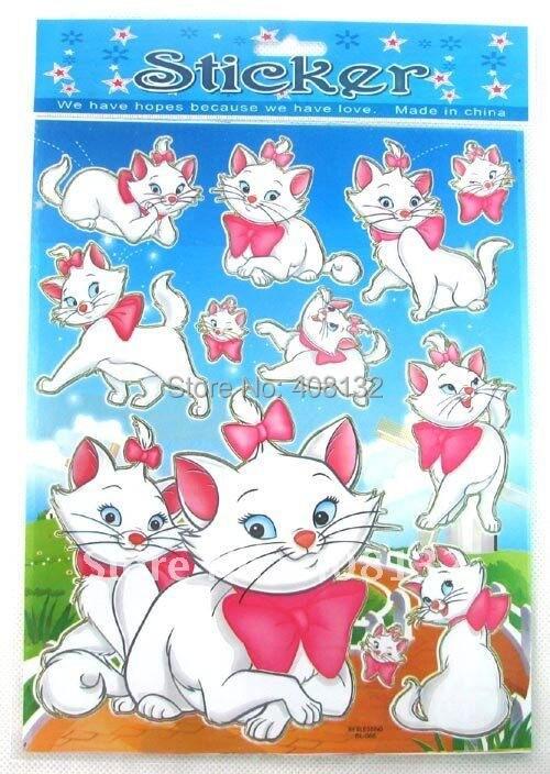 Wholesale 100 Sheets Cartoon Wall Diy Decorative Stickers Children S