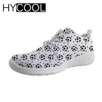 HYCOOL Man's Aqua Shoes Water Sports 3D Foot Ball Printed Beach Shoes for Swimming Sports Man Sneakers Outdoor Wading Shoes Flat