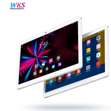 Free shipping tablet PC 10.1 Inch Android 7.0 Octa Core 4GB RAM 64GB RAM 1920×1200 IPS Dual SIM and Camera WiFi GPS Bluetooth FM