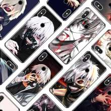 Transparent Soft Silicone Phone Case Kaneki ken Tokyo ghoul for Xiaomi A1 A2 8 F1 Redmi S2 Note 4X 5 6 5A 6A Pro(China)