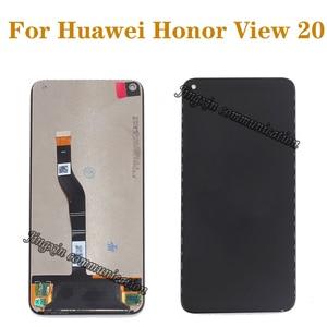 Image 1 - 100% оригинал, для Huawei Honor View 20, ЖК дисплей + сенсорный экран, оцифровка arssembly, замена для honor v20, ЖК дисплей, ремонтные детали