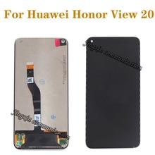 100% מקורי עבור Huawei honor צפה 20 LCD תצוגה + מסך מגע לספרת arssembly החלפה עבור honor v20 LCD תיקון חלקי