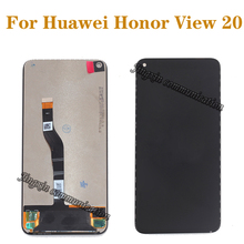 100% original For Huawei Honor View 20 LCD display + touch screen  Digitize arssembly replacement for honor v20 LCD repair parts