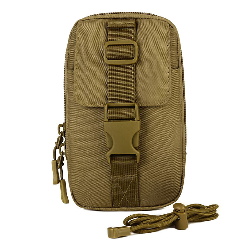 Outdoor Sports Bag Unisex Tactical Vice Package Wear Belt Purse 5.5 inch 6 inch Mobile Phone Package EDC Tool Bag Messenger Bag