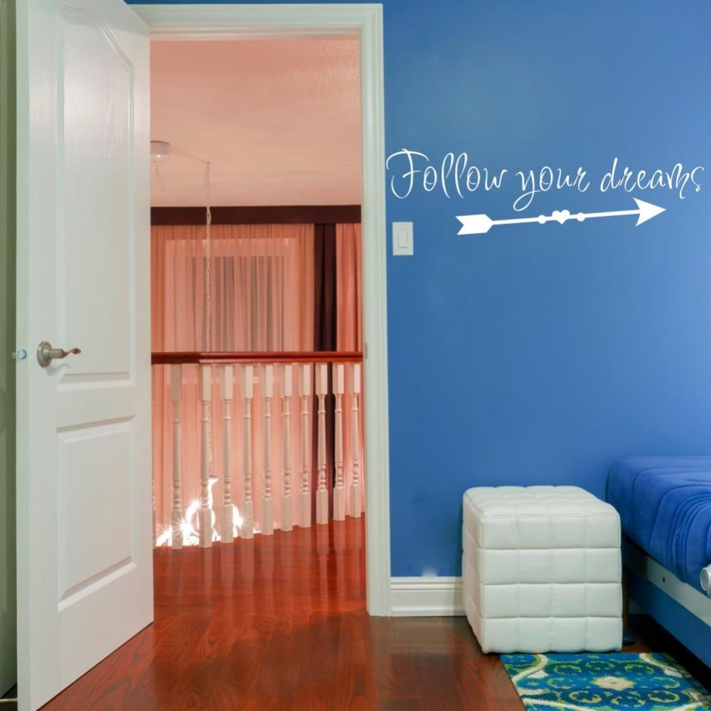Follow Your Dreams Wall Sticker 3
