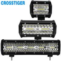 4 7 15 Inch 60W 120W 300W LED Work Light LED Bar Combo Fog Light For
